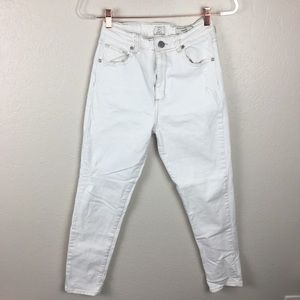 High rise Cotton On 91 size 6 white skinny jeans